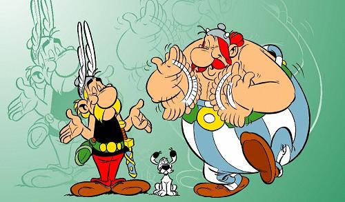 Goscinny un cr ateur de g nie - Personnage asterix et obelix ...